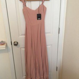 Reformation Poppy Dress size 4 blush color